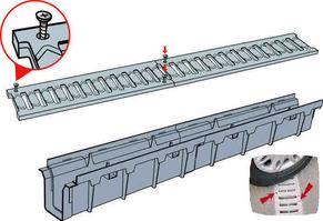 PVC решетки