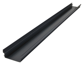 Плитък PVC канал с ширина 13 см. и фабрична дължина 3 л.м.