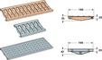PVC решетки за канал CAN188